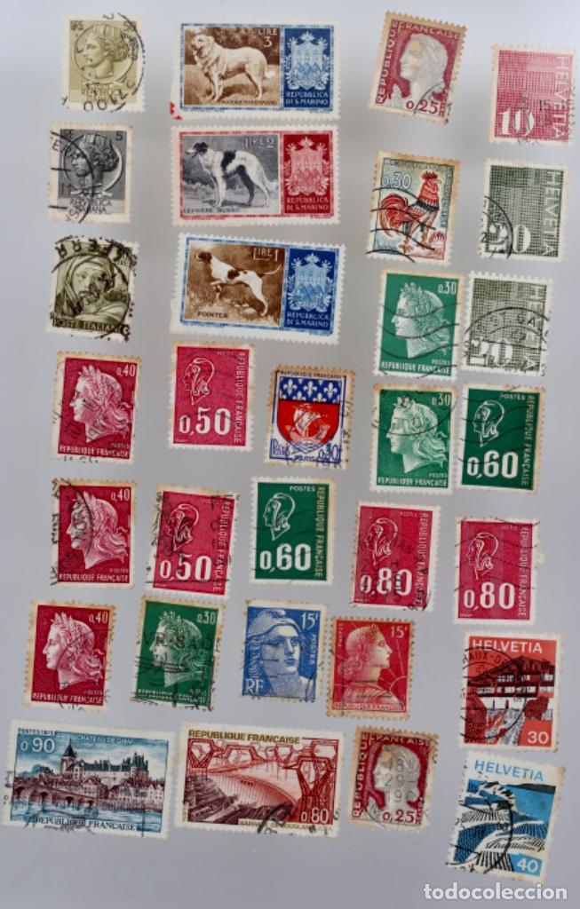 60 SELLOS DE SAN MARINO, ITALIA, FRANCIA,SUIZA, GRAN BRETAÑA,BÉLGICA, PORTUGAL (Sellos - Extranjero - Europa - Italia)