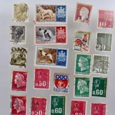 Sellos: 60 SELLOS DE SAN MARINO, ITALIA, FRANCIA,SUIZA, GRAN BRETAÑA,BÉLGICA, PORTUGAL. Lote 197305331