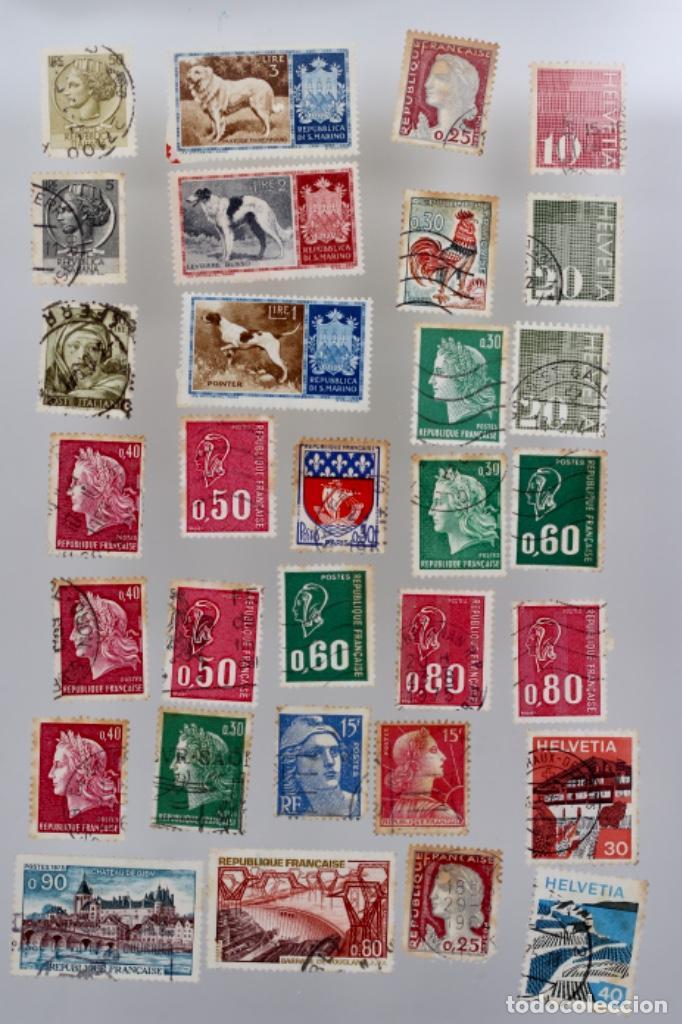 Sellos: 60 SELLOS DE SAN MARINO, ITALIA, FRANCIA,SUIZA, GRAN BRETAÑA,BÉLGICA, PORTUGAL - Foto 2 - 197305331