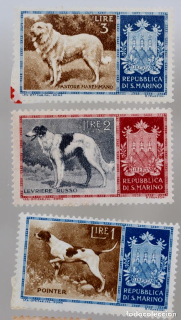 Sellos: 60 SELLOS DE SAN MARINO, ITALIA, FRANCIA,SUIZA, GRAN BRETAÑA,BÉLGICA, PORTUGAL - Foto 3 - 197305331