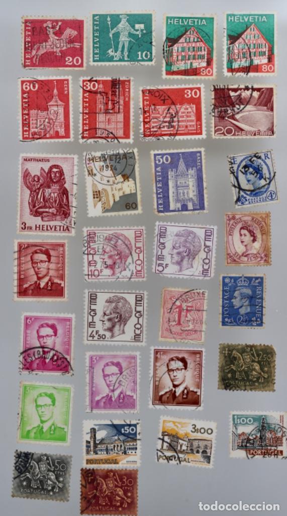 Sellos: 60 SELLOS DE SAN MARINO, ITALIA, FRANCIA,SUIZA, GRAN BRETAÑA,BÉLGICA, PORTUGAL - Foto 4 - 197305331