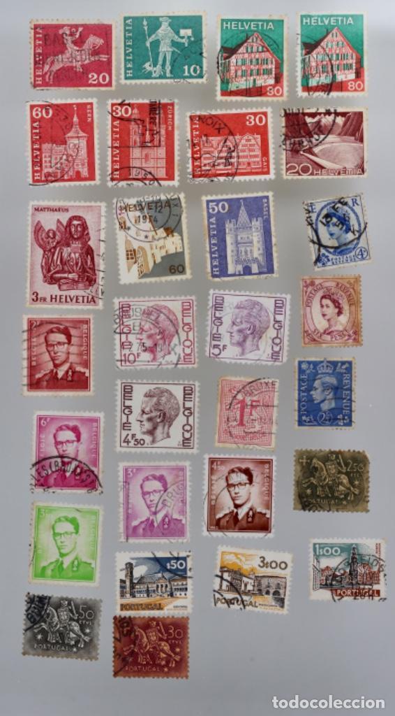 Sellos: 60 SELLOS DE SAN MARINO, ITALIA, FRANCIA,SUIZA, GRAN BRETAÑA,BÉLGICA, PORTUGAL - Foto 5 - 197305331