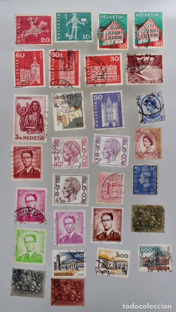 Sellos: 60 SELLOS DE SAN MARINO, ITALIA, FRANCIA,SUIZA, GRAN BRETAÑA,BÉLGICA, PORTUGAL - Foto 6 - 197305331