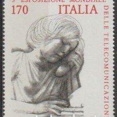 Timbres: ITALIA 1979 SCOTT 1377 SELLO ** EXHIBICIÓN MUNDIAL TELECOMUNICACIONES MICHEL 1668 YVERT 1400 ITALY. Lote 197642416