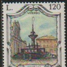 Timbres: ITALIA 1979 SCOTT 1379 SELLO ** FUENTES FAMOSAS FONTANA GRANDE VITERBO MICHEL 1672 YVERT 1404 ITALY. Lote 197642657