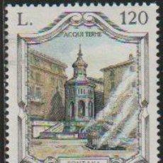 Timbres: ITALIA 1979 SCOTT 1380 SELLO ** FUENTES FAMOSAS FONTANA LA BOLLENTE ADQUI TERMI MICHEL 1671 YV. 1402. Lote 197642686