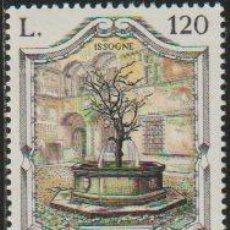 Timbres: ITALIA 1979 SCOTT 1381 SELLO ** FUENTES FAMOSAS FONTANA DEL MELOGRANO ISSOGNE MICHEL 1670 YVERT 1403. Lote 197642765