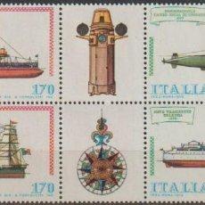Timbres: ITALIA 1979 SCOTT 1382/5 SELLOS ** BARCOS NAVI COSMOS, DELEDDA, DANDOLO, CARLO FECIA DI COSSATO. Lote 197642817