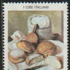 Timbres: ITALIA 1994 SCOTT 1969 SELLO * ALIMENTOS COMIDA ITALIANA PAN HARINA MICHEL 2311 YVERT 2044 ITALY. Lote 48822824