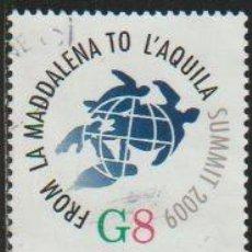 Timbres: ITALIA 2009 SCOTT 2947 SELLO º CONFERENCIA DEL G8 DE LA MAGDALENA A L'AQUILA MICHEL 3315 YVERT 3076. Lote 197752358