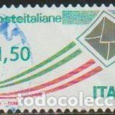 Timbres: ITALIA 2009 SCOTT 2943 SELLO º CORREO AEREO SOBRE VOLANDO MICHEL 3313 YVERT 3074 RESTO PAPEL O PEGAM. Lote 197752652