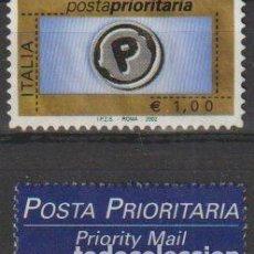Selos: ITALIA 2002 SCOTT 2468 SELLO º POSTA PRIORITARIA MICHEL 2806IV YVERT 2548 ITALY STAMPS TIMBRE ITALIE. Lote 197754853