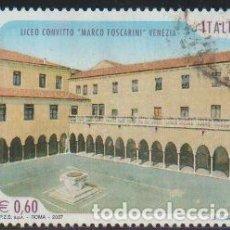 Timbres: ITALIA 2007 SCOTT 2829 SELLO º ESCUELAS Y UNIVERSIDADES LICEO CONVITTO MARCO FOSCARINI VENEZIA M3196. Lote 198608928