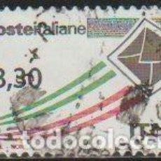 Timbres: ITALIA 2009 SCOTT 2945 SELLO º CORREO AEREO SOBRE VOLANDO MICHEL 3356 YVERT 3117 ITALY STAMPS TIMBRE. Lote 198608973