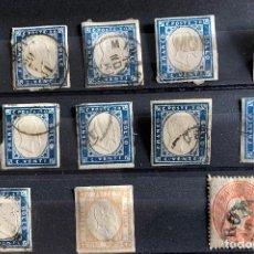 Sellos: ITALIA/ ITALY. 1855-1861.. Lote 199290195