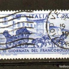 Sellos: ++ SELLO DE ITALIA AÑO 1969 USADO. Lote 202489002