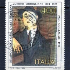 Sellos: ++ SELLO DE ITALIA AÑO 1984 USADO. Lote 202490555