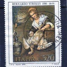 Sellos: ++ SELLO DE ITALIA AÑO 1978 USADO. Lote 202490985