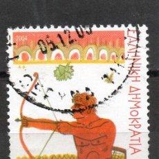Sellos: ++ SELLO DE GRECIA AÑO 2004 USADO. Lote 202491430