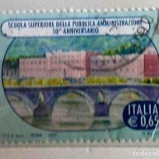 Sellos: ITALIA, 1 SELLO USADO. Lote 204092177