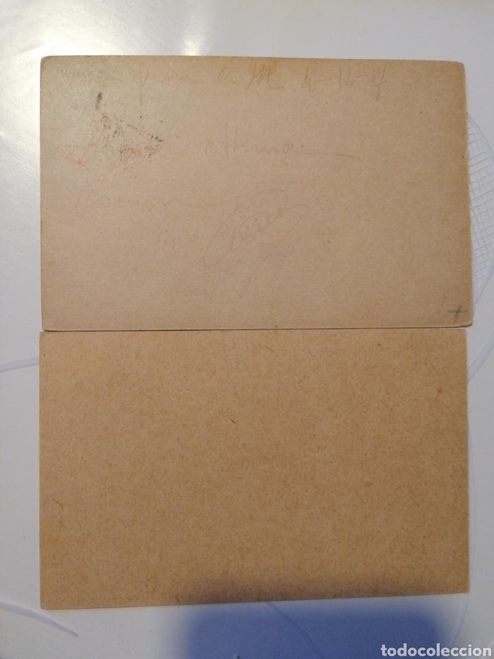 Sellos: Cartulina postal Italiana franquicia dos piezas - Foto 3 - 204195160
