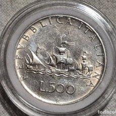 Sellos: ITALIA - 500 LIRE 1958/2001 - PLATA 835. Lote 204407165