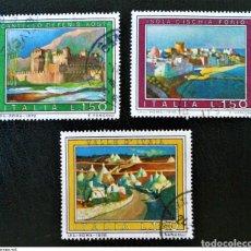 Sellos: SELLOS USADOS DE ITALIA YT 1259/ 61. Lote 206198886