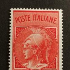 Sellos: ITALIA, POSTA NEUMÁTICA 1958 MNH (FOTOGRAFÍA REAL). Lote 207136102