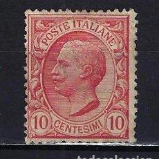 Sellos: 1906 ITALIA YVERT 77 VICTOR MANUEL III MNH** NUEVO SIN FIJASELLOS. Lote 210406306
