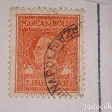 Sellos: SELLO ITALIA MARCA DA BOLLO. LIRE TRE..NAPOLITANO...NO SALE EN CATALOGO.. Lote 213789756