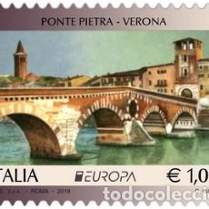 Sellos: SELLO USADO DE ITALIA YT 3800, AUN POR DESPEGAR. Lote 213855071