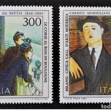 Sellos: SELLOS USADOS DE ITALIA, YT 1601/ 02. Lote 213956340
