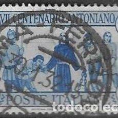 Sellos: SELLO USADO DE ITALIA, YT 278 FOTO ORIGINAL. Lote 213973408