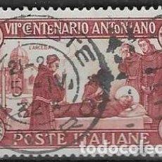 Sellos: SELLO USADO DE ITALIA, YT 277, FOTO ORIGINAL. Lote 213973522