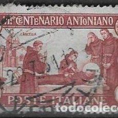 Sellos: SELLO USADO DE ITALIA, YT 277, FOTO ORIGINAL. Lote 213973621
