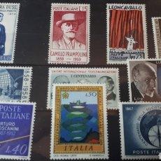 Sellos: SELLOS CON GOMA ORIGINAL DE ITALIA W009. Lote 214101825