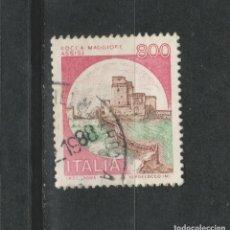 Sellos: LOTE (17) SELLOS ITALIA CASTILLOS. Lote 287586563