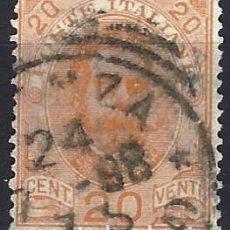 Sellos: ITALIA 1893-96 - REY UMBERTO I, NUEVOS DISEÑOS - USADO. Lote 218738873