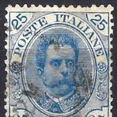 Sellos: ITALIA 1893-96 - REY UMBERTO I, NUEVOS DISEÑOS - USADO. Lote 218739011