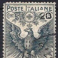 Timbres: ITALIA 1915-16 - CRUZ ROJA - USADO. Lote 218756203