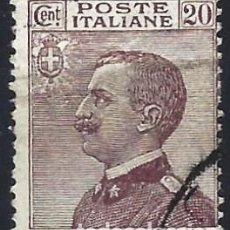 Francobolli: ITALIA 1926 - VÍCTOR MANUEL III, COLORES NUEVOS - USADO. Lote 218757513