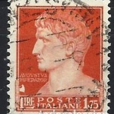 Francobolli: ITALIA 1929 - SERIE IMPERIAL, AUGUSTO - USADO. Lote 218821120