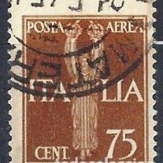 Sellos: ITALIA 1932 - ESTATUA DE LA VICTORIA, AÉREO - USADO. Lote 218830435