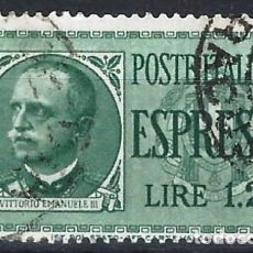 Sellos: ITALIA 1932 - SELLO EXPRES - USADO. Lote 218830581