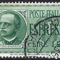 Sellos: ITALIA 1932 - SELLO EXPRES - USADO. Lote 218830611