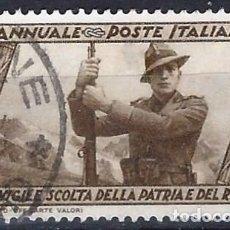 Sellos: ITALIA 1932 - 10º ANIV. DE LA MARCHA SOBRE ROMA - USADO. Lote 218830812