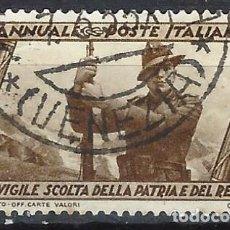 Sellos: ITALIA 1932 - 10º ANIV. DE LA MARCHA SOBRE ROMA - USADO. Lote 218830840