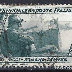Sellos: ITALIA 1932 - 10º ANIV. DE LA MARCHA SOBRE ROMA - USADO. Lote 218830886