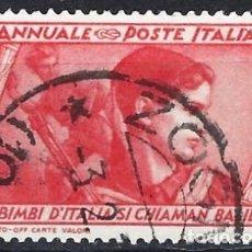 Sellos: ITALIA 1932 - 10º ANIV. DE LA MARCHA SOBRE ROMA - USADO. Lote 218831073