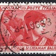 Francobolli: ITALIA 1932 - 10º ANIV. DE LA MARCHA SOBRE ROMA - USADO. Lote 218831103